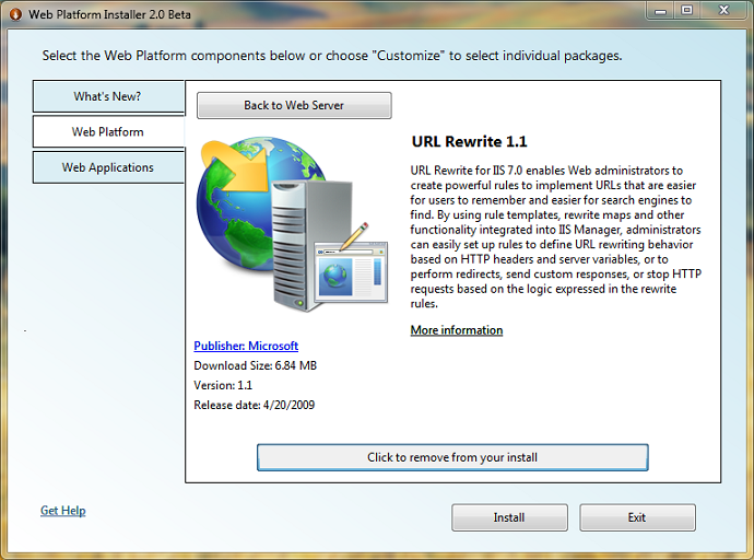 microsoft personal web server download for xp