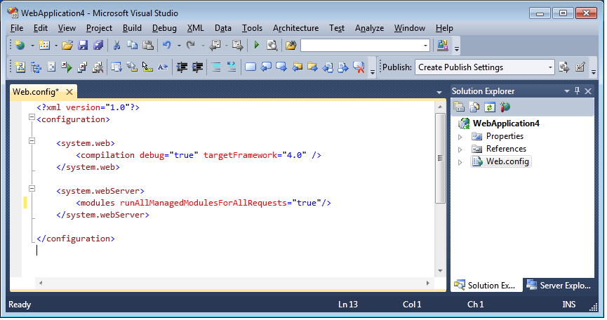 ScottGu's Blog - Clean Web Config Files (VS 2010 and  NET